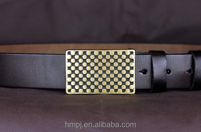 Hotsale men's genuine leather belt for jeans by wholesale