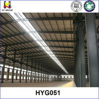 prefabricated steel structure prefab factory building