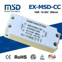 High power factor 0.95 no flicker constant current (8-12)x1w led driver for led lights