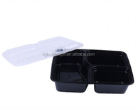 plastic material Microwavable disposable food container