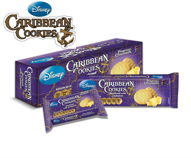 Caribbean Cookies - Shortbread Flavor (Danish Style Butter Cookies with Cardamom Flavor)
