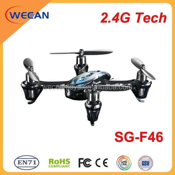 2.4G drone toy manufacturers unmanned plastic scale model aircraft