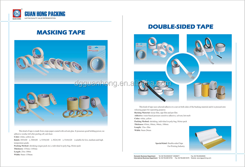Custom Logo Clear Acrylic Bopp Packing Adhesive Tape for Carton Sealing Bopp Packaging Tape