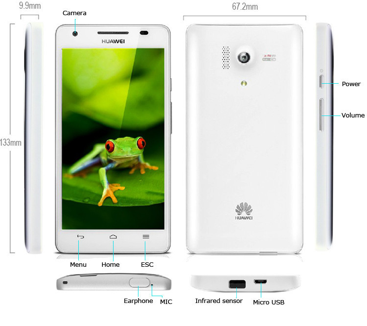 Huawei Glory 3 honor 3 Outdoor Water proof infrared remote control fuction 4.7inch smart phone Android 4.2 13.1MP Camera 2G 8G