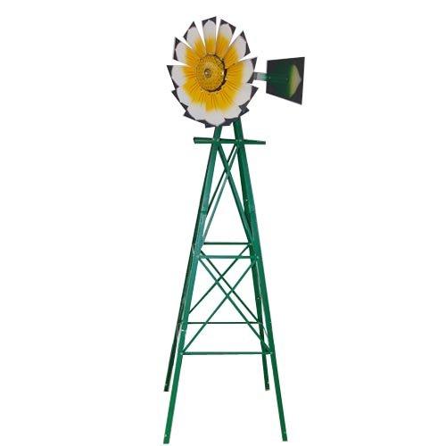 Jard n de metal molino de viento otros decoraciones de for Molinos de viento para jardin