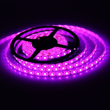 Factory Sales 12V-24V Waterproof LED Strip Light Single Color,Warm White Cool White, RGB double sided led strip light