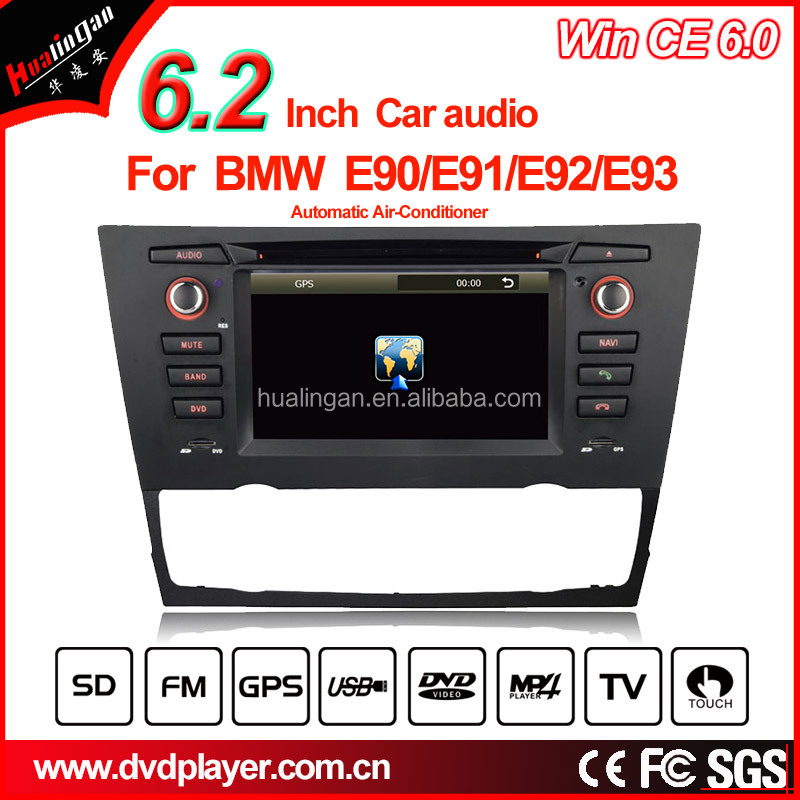 Car DVD GPS for BMW 3 Series E90 E91 E92 E93 with Bluetooth/Radio/RDS/TV/Can Bus/USB/iPod/HD Touchscreen Function