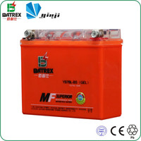12v sealed three wheel cargo motorcycles battery
