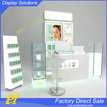 Commercial furniture wood storage cosmetic display cabinet