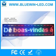 Waterproof outdoor flexible LED text board for shop made in Shenzhen