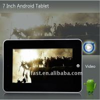 7 inch Tablet PC systems Android 2.2
