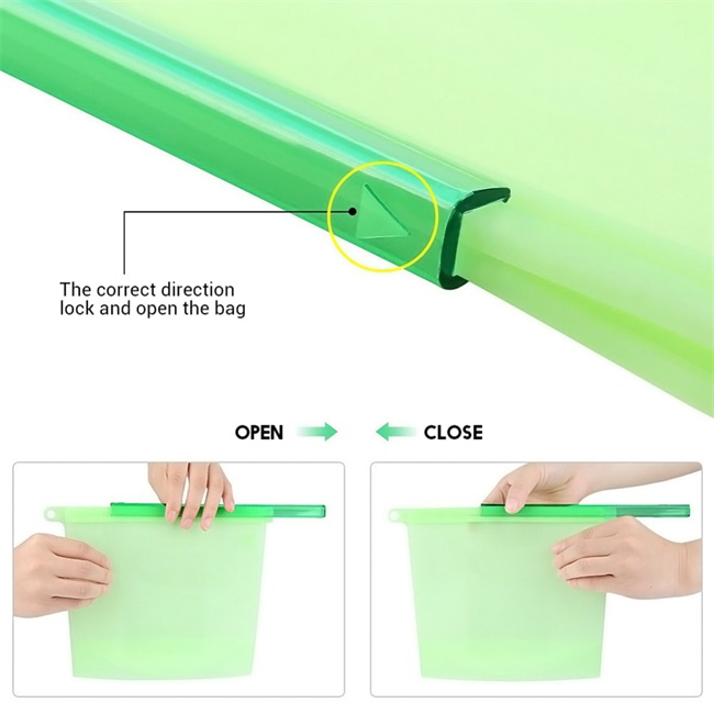 Amazon vegetable silicone fresh bag with low price