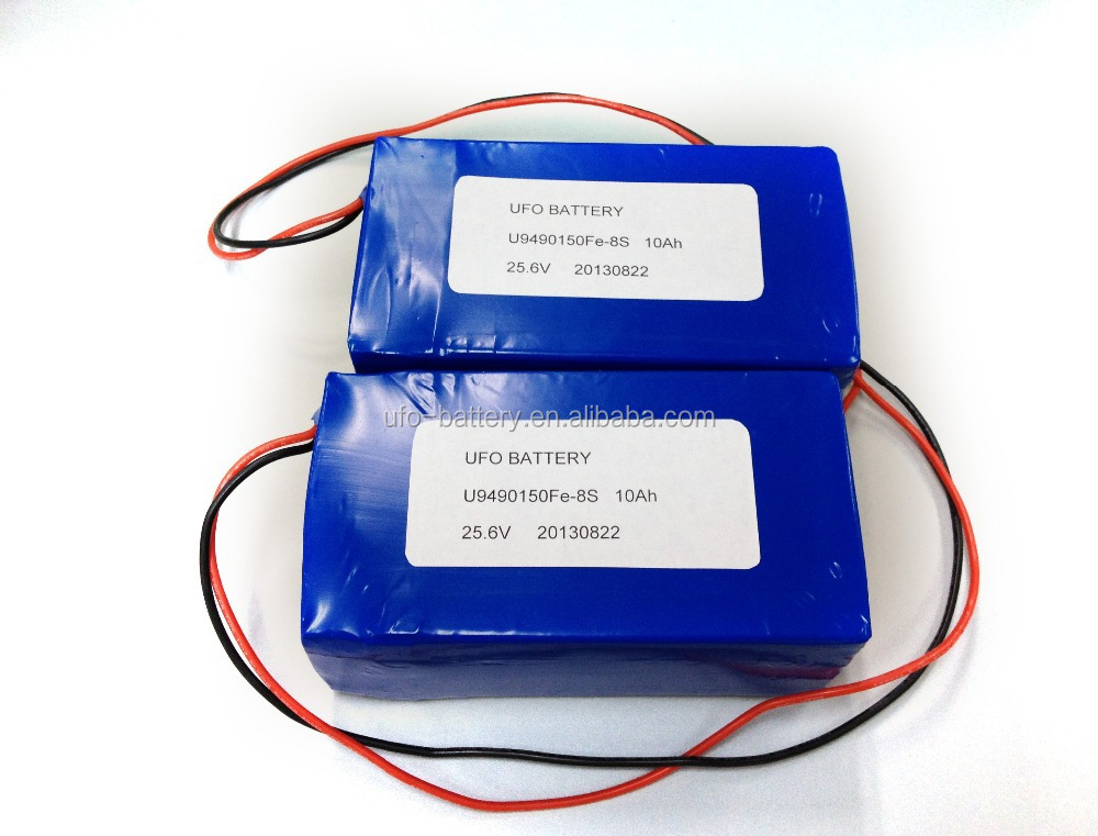 25.6V LED Lighting LiFePO4 Battery Pack 8S1P 24V 10Ah 9490150