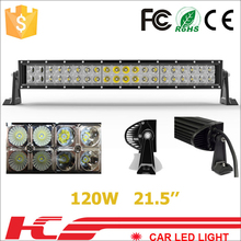 high lumens led offroad light bar 120W wholesale LED light bar IP67 Top quality top brightness!