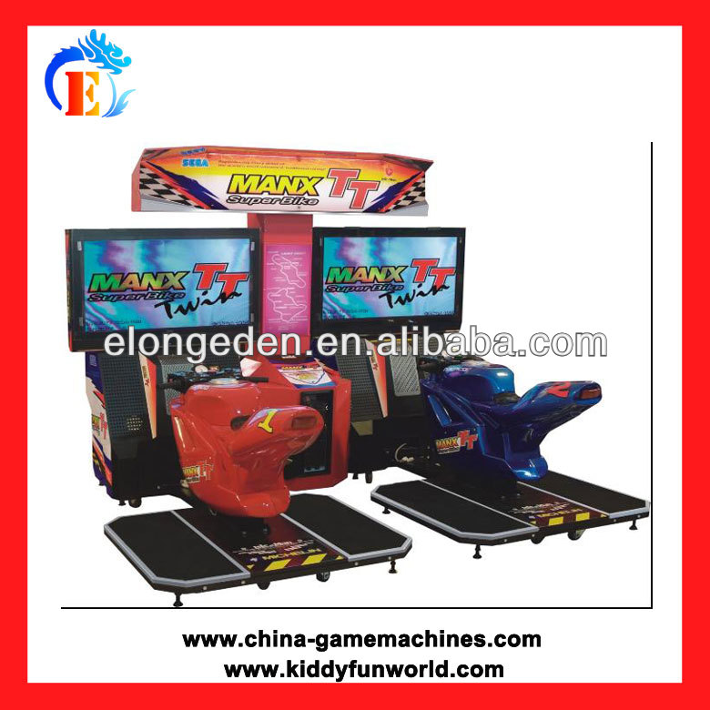 2013 hot sale coin operated motor racing game machine