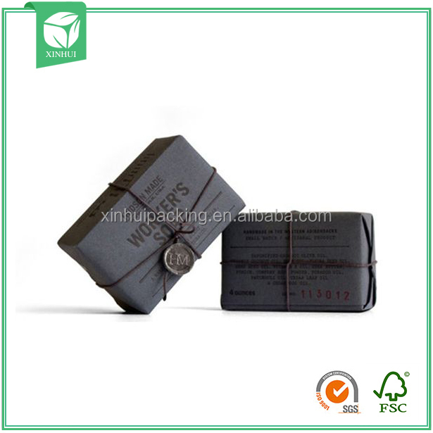 Paper Sleeve Soap Paper Box Soap Packaging Box