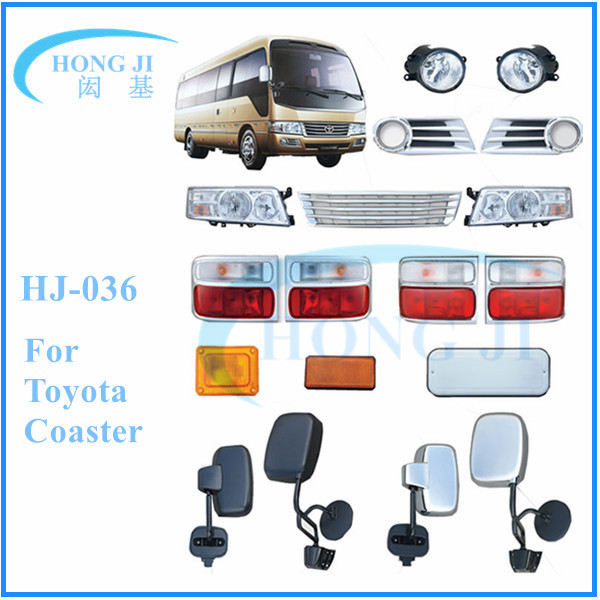 made in china toyota coaster auto bus spare parts and accessories