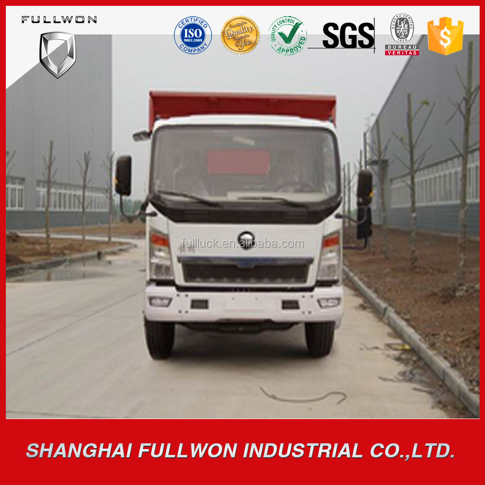 widely used high quality left hand drive dump truck