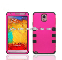 Defender style robot designer case for samsung galaxy note 3