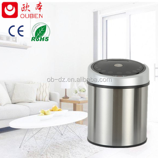 Wholesale custom handmade indoor office dustbin design/GYT30-4B-S