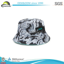 Floral Print Colorful Funny Tie Dyed Blank Wholesale Printed Custom Bucket Hat