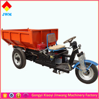 automatic dump 3 wheel electric type cargo motor tricycle
