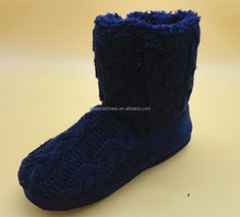 New arrival best selling handmade lightweight knit snow boots for men