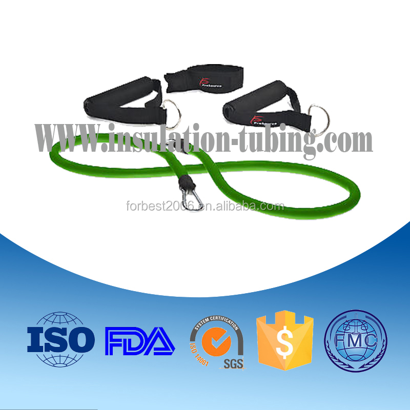 Rubber Stretch Resistance Band Tubing, Resistant Band Exercises Athletic Resistance Bands