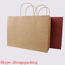Fashional Custom Printed Luxury Gift Shopping bag with Your Own Logo