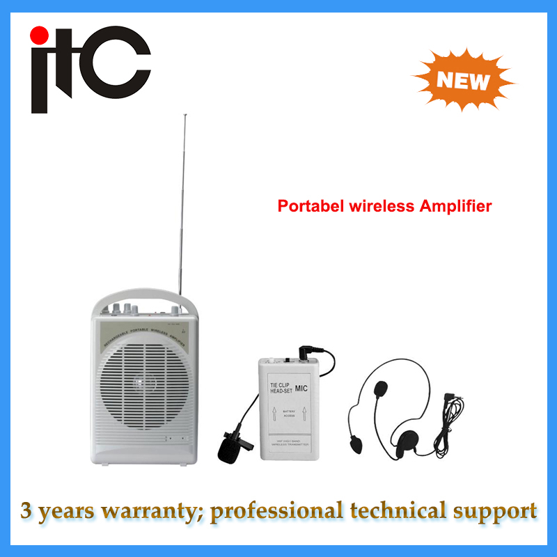 PA System rechargeable wireless portable amplifier for Teaching System