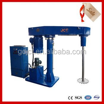 JCT high speed disperser paint production process for dye,ink,paint