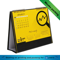 customized paper calendar with company advertisement