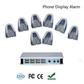 Manufactory wholesale 8 ports phone anti lost alarm