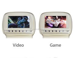 9 inch high-definition video devices input Headrest Car Dvd