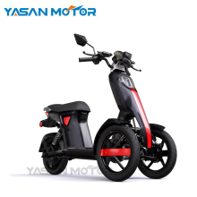 2018 EEC 48V 1200W Bosch Motor Classic Adult Electric Scooters With Two Seats