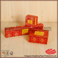 Hot stamping customized sweet cardboard packaging box for Jewerly