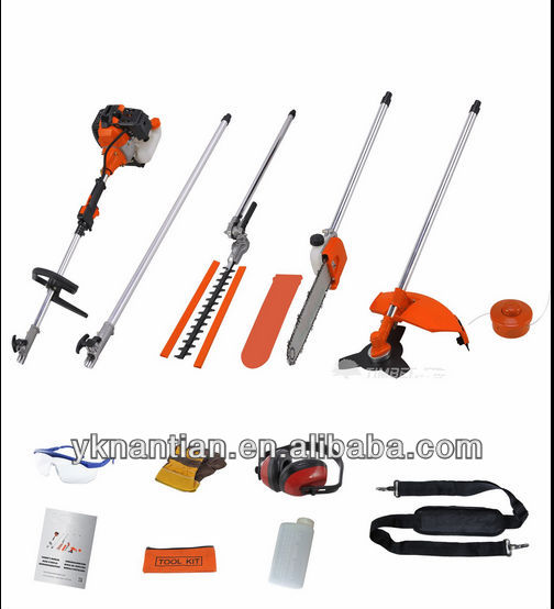43cc/52cc Multi Function Garden Tools 5 in1 gardening 2 stroke gasoline 5 in 1