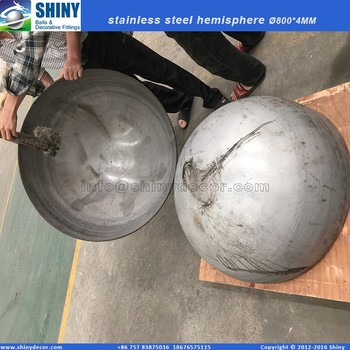 600MM mirror stainless steel hemisphere