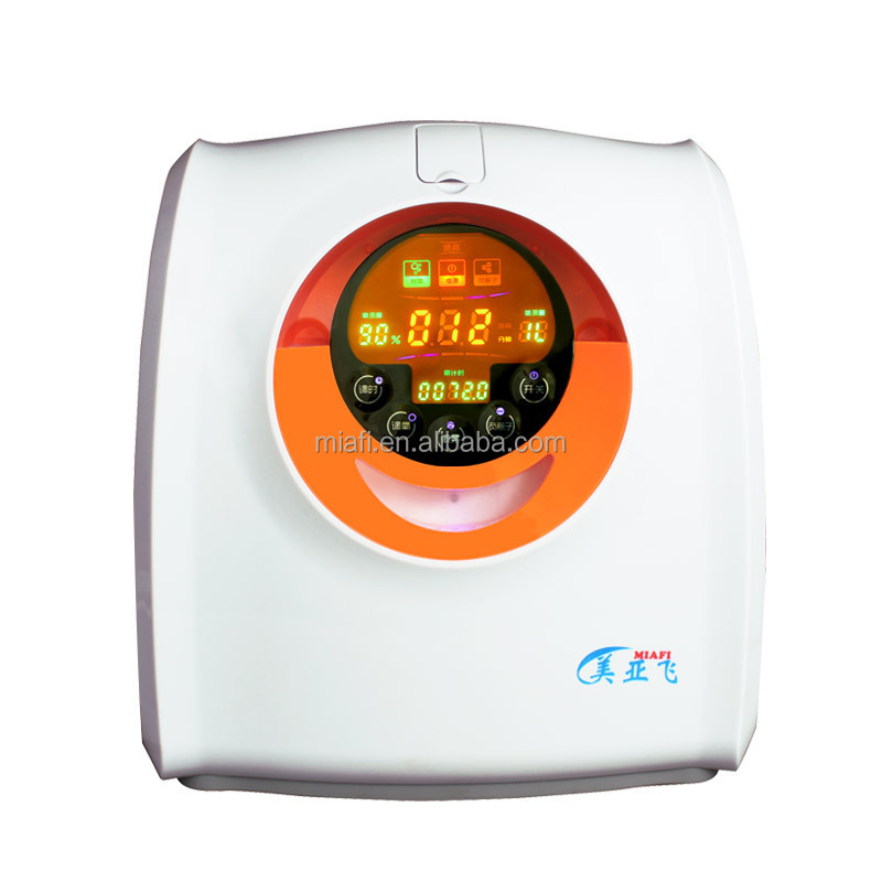 Good-looking commercial design oxygen machine electric battery portable oxygen concentrator generator for home