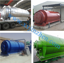 2014 New Technology Batch Type Waste Tyre Pyrolysis To Crude Oil Production Line