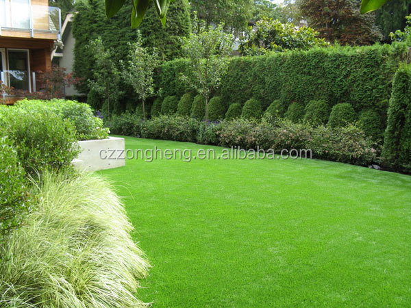decorative artifical grass carpet for fence use
