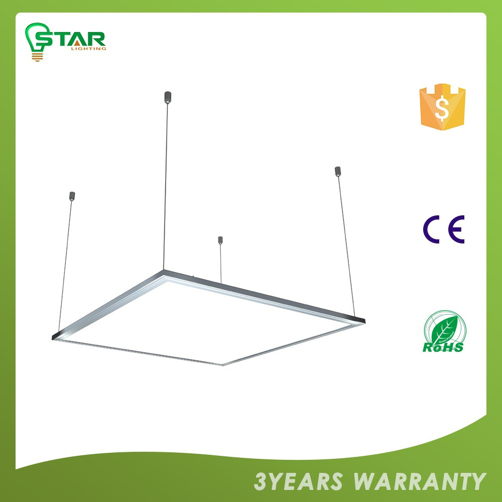 Excellent Quality Custom Design Ce ,Rohs Certified Dimmable White Led Suspended Ceiling Light Panel