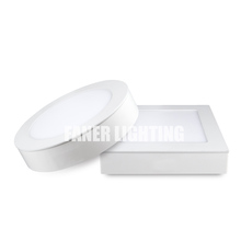 high brightness surface mounted panel 6w/12w/18w led <strong>flat</strong> panel the biggest promotion this year