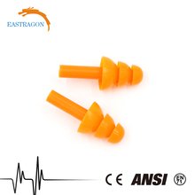 Christmas Tree Flexible Silicon Decorative Ear Plugs