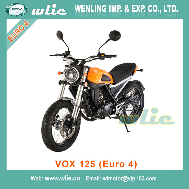 Hot Sale chinese 50cc cheap model 4 stroke scooter 125cc motorcycle for sale VOX (Euro 4)