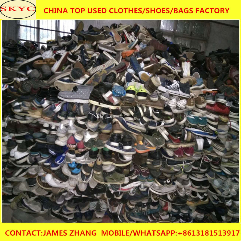 adults used shoes in bales China used shoes 25kg sacks