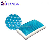 Cooling Gel Chip Added Memory Foam Gel Pillow