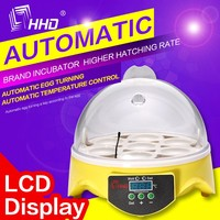 HHD cheap egg incubator for sale made in China/egg incubator hatchery price 7 eggs