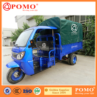 Best Selling Tuk Tuk Tricycle Motorcycle For Cargo With Comfortable Cabin
