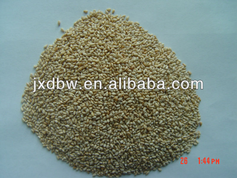 white roasted sesame powder